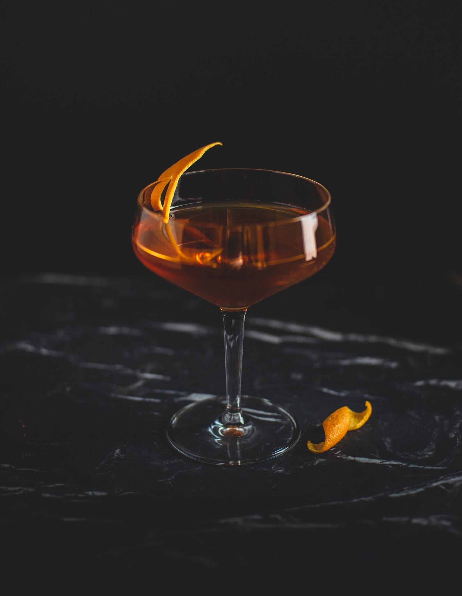 Sweet Manhattan Cocktail