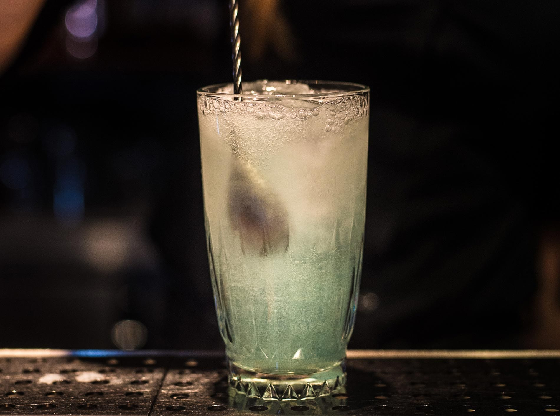 Flora Highball Suderman Bar | ©Wolfgang Simm Diageo World Class 2019