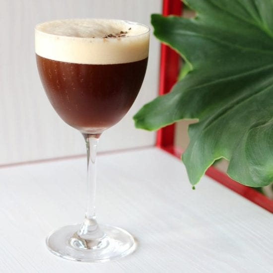 Corretto Martini Tobias Nerb Rezept & Zubereitung | Espresso Martini